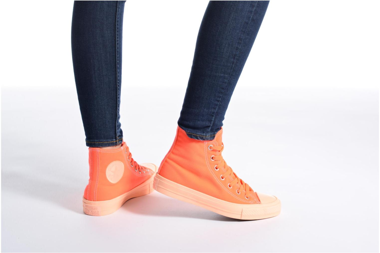 All Taylor II Hi Orange Chuck Converse Barely W Pastel Midsoles Buff Barely Star Orange 1wSqETWfTF