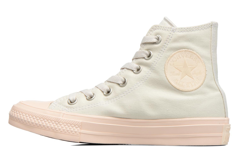Baskets Converse Chuck Taylor All Star II Hi Pastel Midsoles W Beige vue face