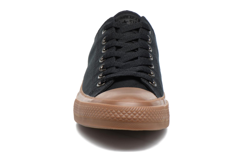 Baskets Converse Chuck Taylor All Star II Ox Tencel Canvas Noir vue portées chaussures
