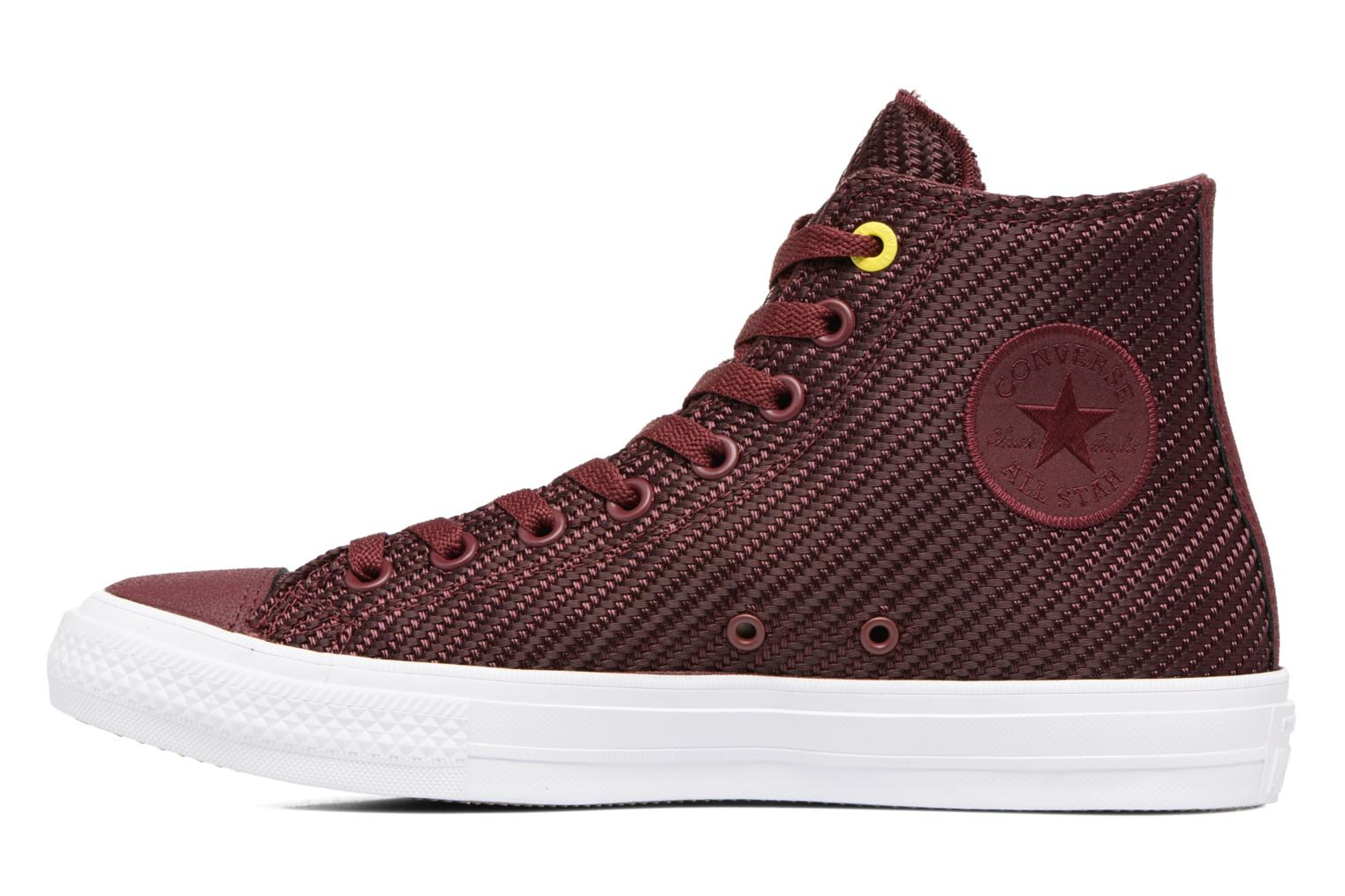 Baskets Converse Chuck Taylor All Star II Hi Sports Blocking Bordeaux vue face