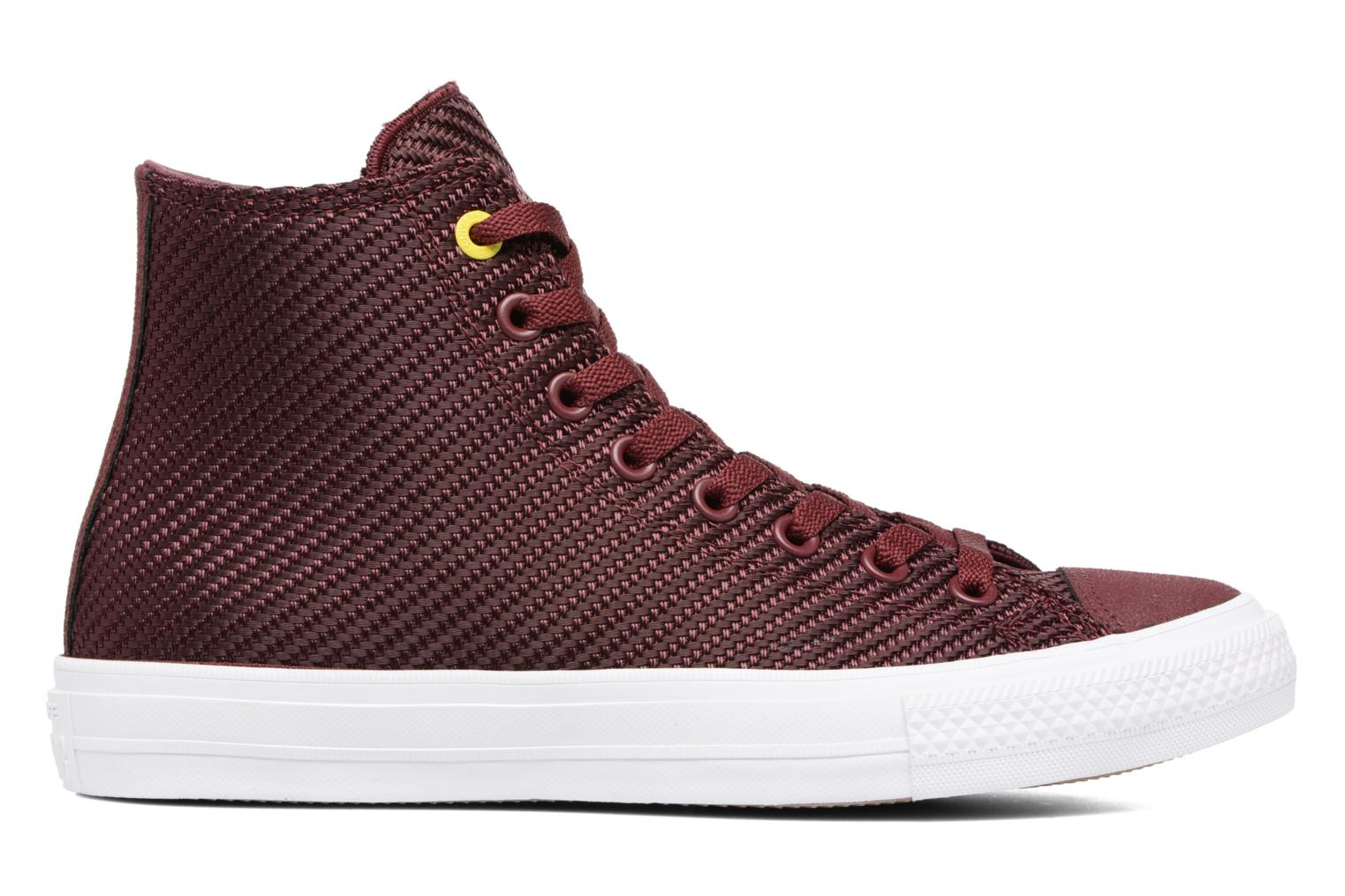 Baskets Converse Chuck Taylor All Star II Hi Sports Blocking Bordeaux vue derrière