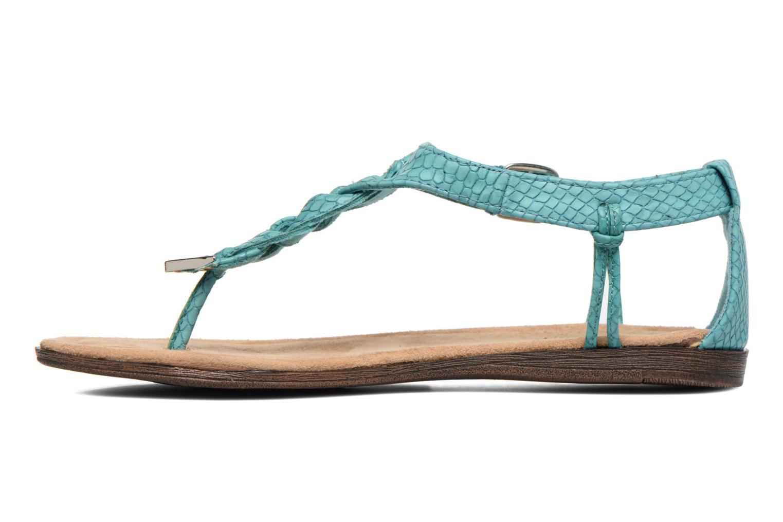 Sandales et nu-pieds Minnetonka Carnival Thong Bleu vue face