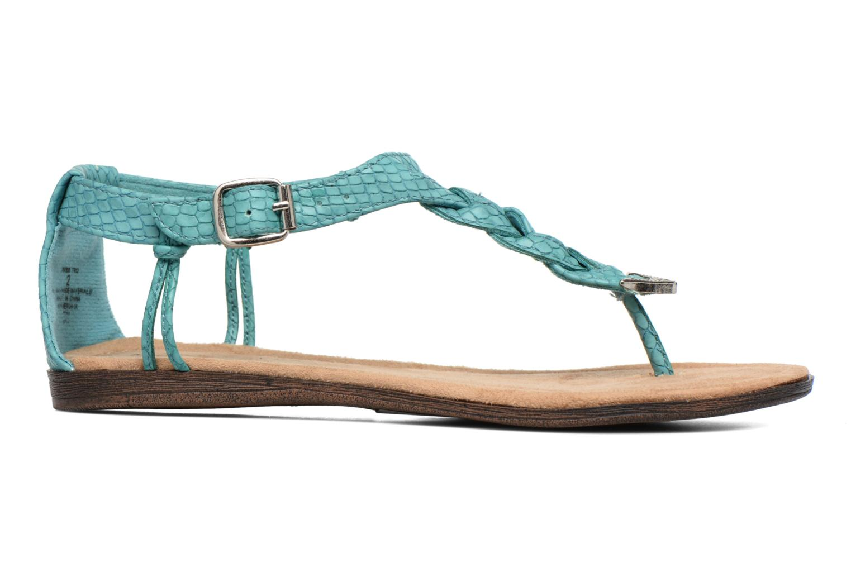 Sandales et nu-pieds Minnetonka Carnival Thong Bleu vue derrière