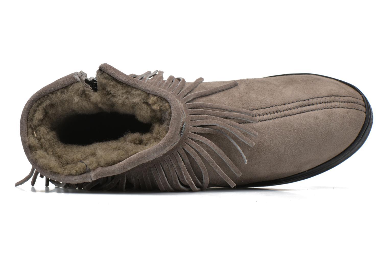 Bottines et boots Minnetonka Side Zip Pug Boot Gris vue gauche