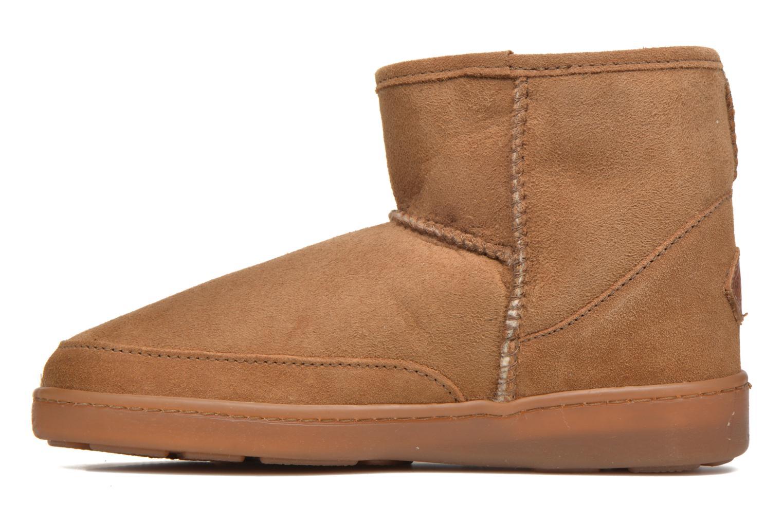 Bottines et boots Minnetonka Ankle-Hi Sheepskin Pug Boot Marron vue face