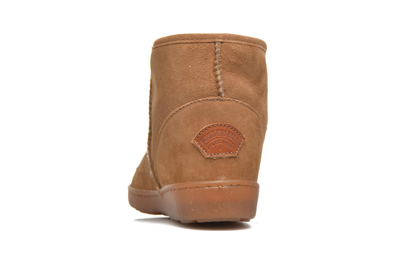 Bottines et boots Minnetonka Ankle-Hi Sheepskin Pug Boot Marron vue droite