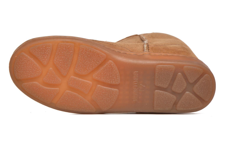 Ankle-Hi Sheepskin Pug Boot Gold Tan Sheepskin