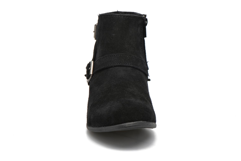 Bottines et boots Minnetonka Rancho Boot Noir vue portées chaussures