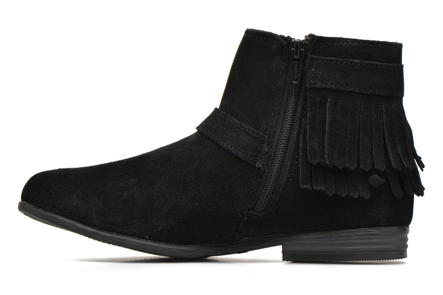 Ankle boots Minnetonka Rancho Boot Black front view