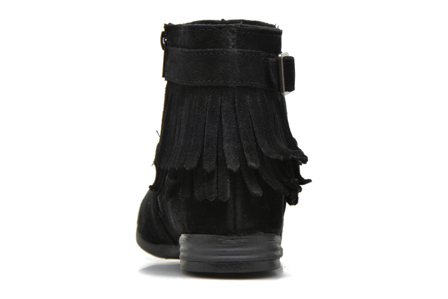 Ankle boots Minnetonka Rancho Boot Black view from the right