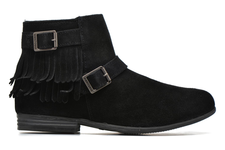Bottines et boots Minnetonka Rancho Boot Noir vue derrière