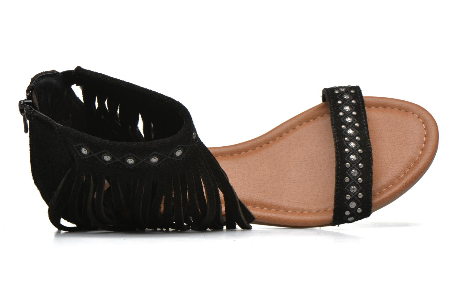 Savona Low Wedge Black Suede
