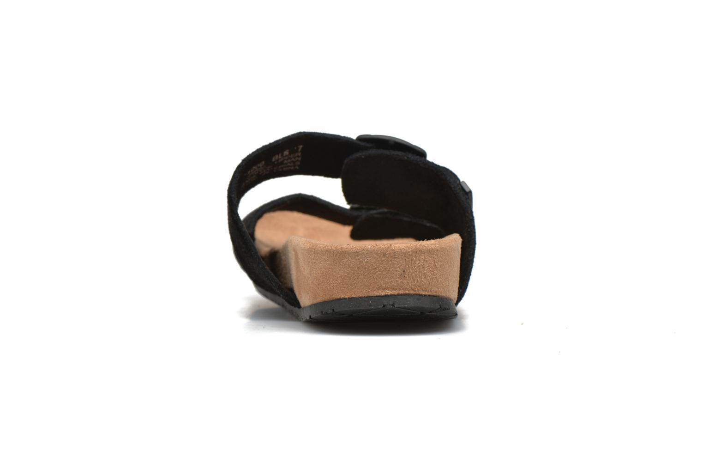 Zoccoli Minnetonka Gipsy Sandal Nero immagine destra