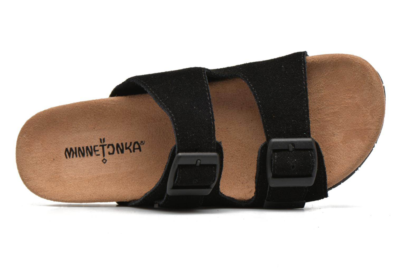 Zoccoli Minnetonka Gipsy Sandal Nero immagine sinistra