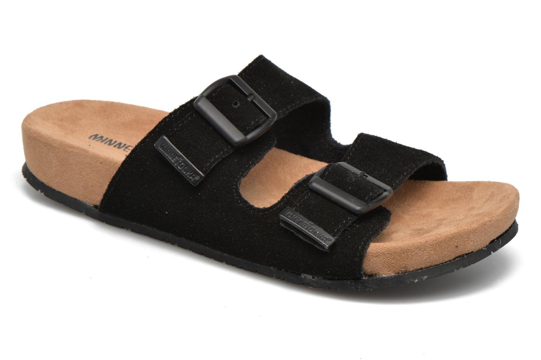 Recortes de precios estacionales, beneficios de descuento Minnetonka Gipsy Sandal (Negro) - Zuecos en Más cómodo
