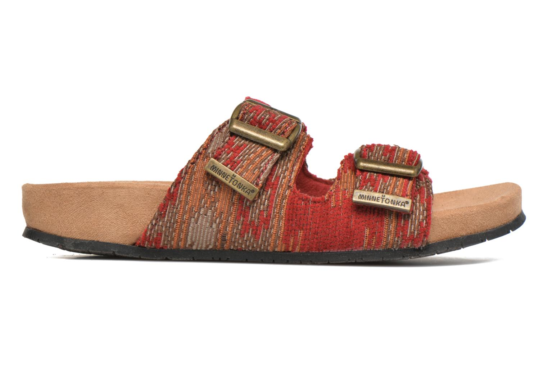 Mules et sabots Minnetonka Gipsy Sandal Rouge vue derrière
