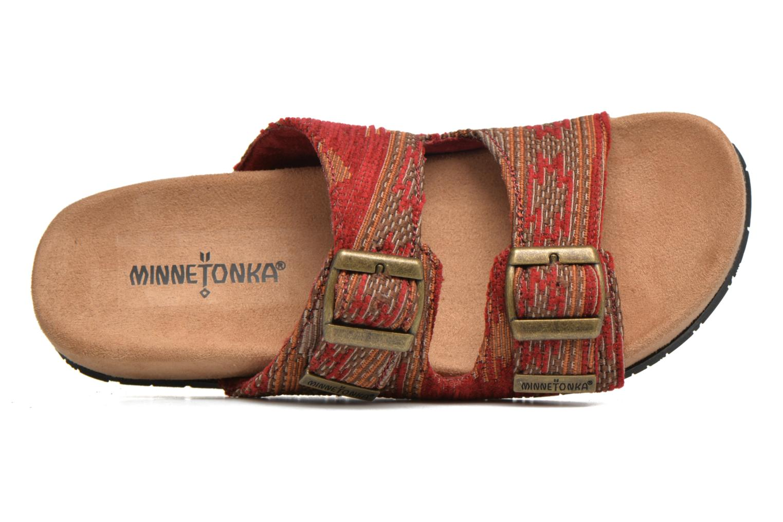 Mules et sabots Minnetonka Gipsy Sandal Rouge vue gauche