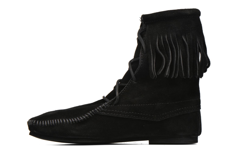 Bottines et boots Minnetonka Tramper Bt H Noir vue face