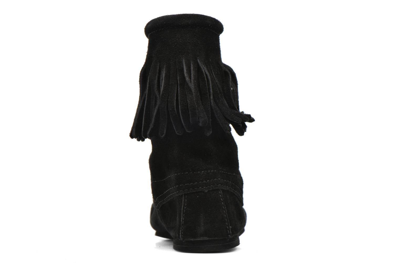 Bottines et boots Minnetonka Tramper Bt H Noir vue droite