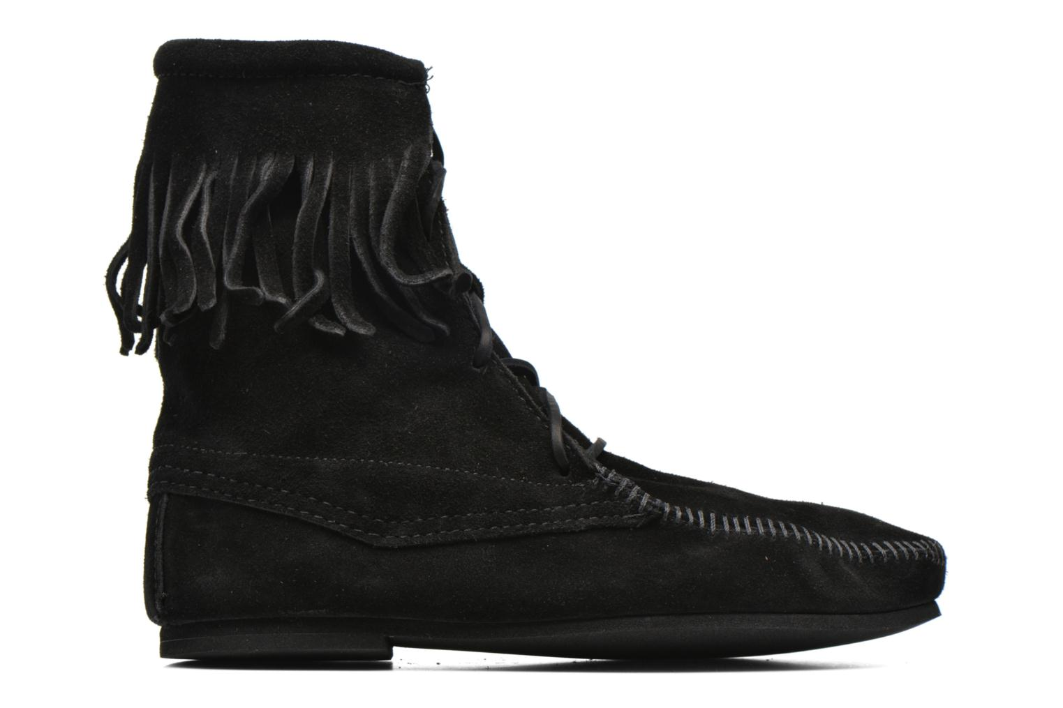 Ankle boots Minnetonka Tramper Bt H Black back view