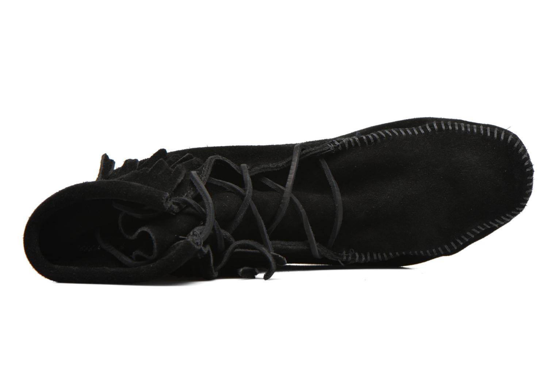 Bottines et boots Minnetonka Tramper Bt H Noir vue gauche