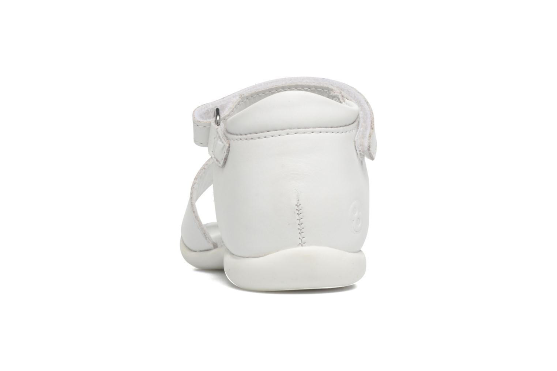Sandales et nu-pieds Mod8 Grama Blanc vue droite