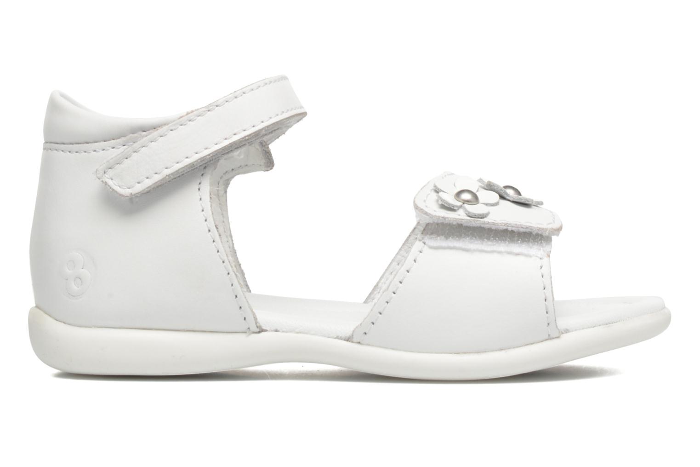 Sandales et nu-pieds Mod8 Grama Blanc vue derrière