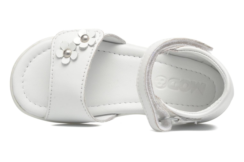 Sandales et nu-pieds Mod8 Grama Blanc vue gauche