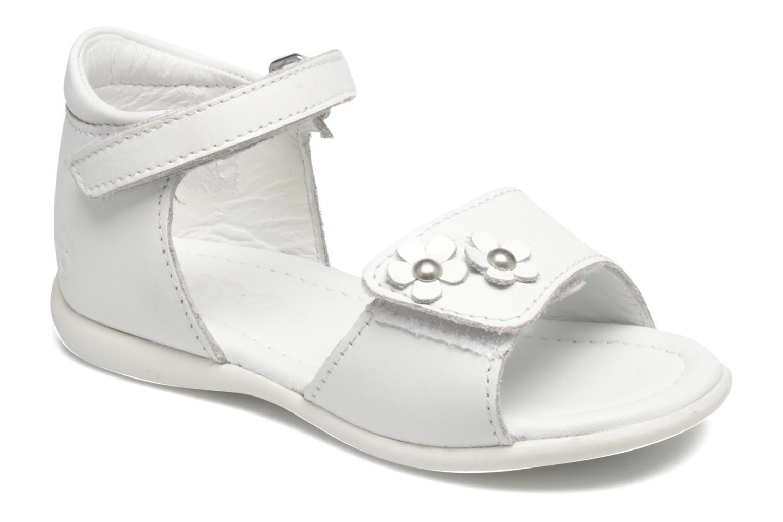 Sandales et nu-pieds Mod8 Grama Blanc vue détail/paire