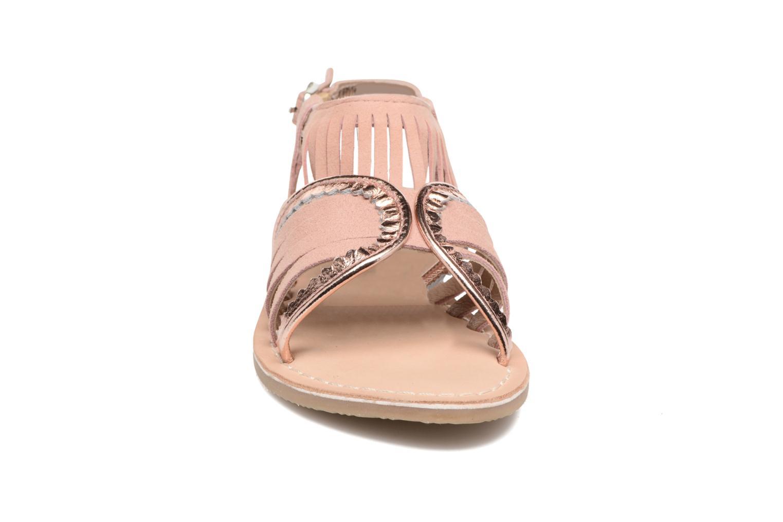 Sandales et nu-pieds Mod8 Sumy Rose vue portées chaussures