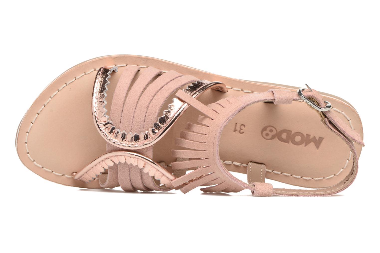 Sandales et nu-pieds Mod8 Sumy Rose vue gauche