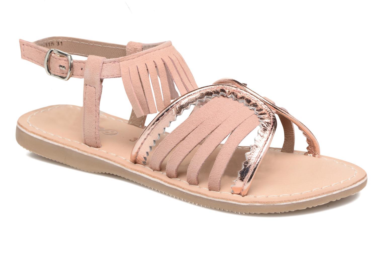 Sandales et nu-pieds Mod8 Sumy Rose vue détail/paire