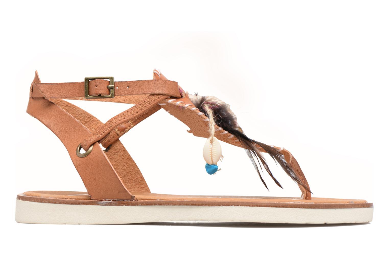 Sandals Coolway Honololu Brown back view