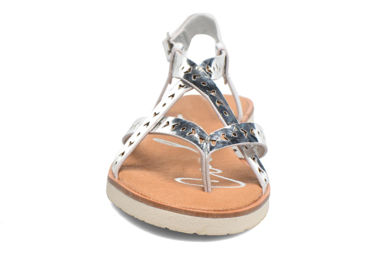Sandales et nu-pieds Coolway Poppy Argent vue portées chaussures