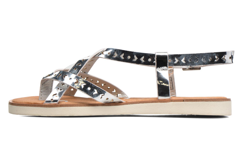 Sandales et nu-pieds Coolway Poppy Argent vue face