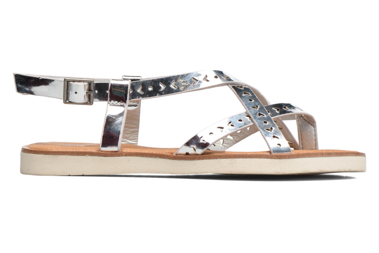 Sandales et nu-pieds Coolway Poppy Argent vue derrière