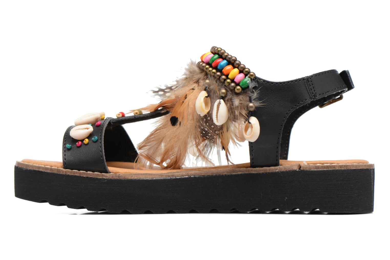 Sandales et nu-pieds Coolway Margarita Noir vue face