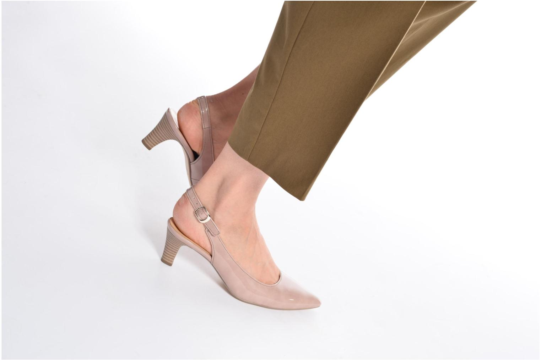 Zapatos de tacón Gabor Napa Beige vista de abajo