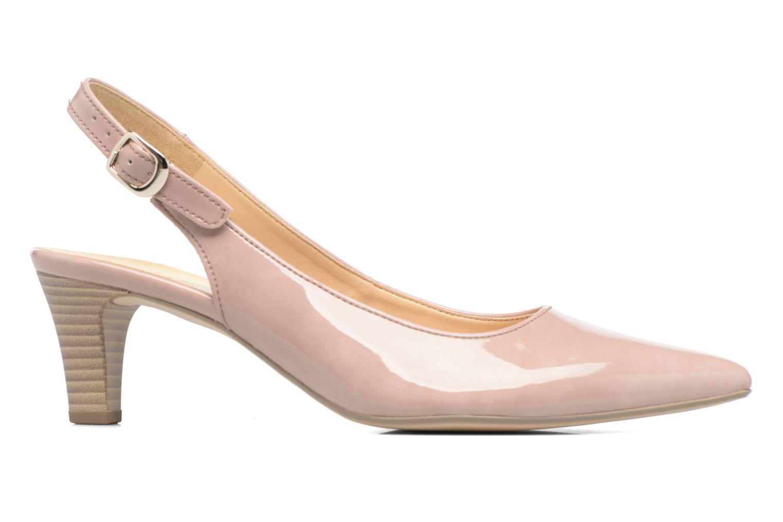 Zapatos de tacón Gabor Napa Beige vistra trasera