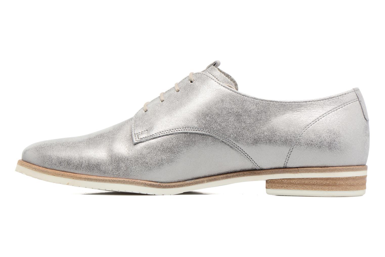 Zapatos con cordones Gabor Napoli Plateado vista de frente