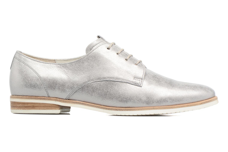 Zapatos con cordones Gabor Napoli Plateado vistra trasera