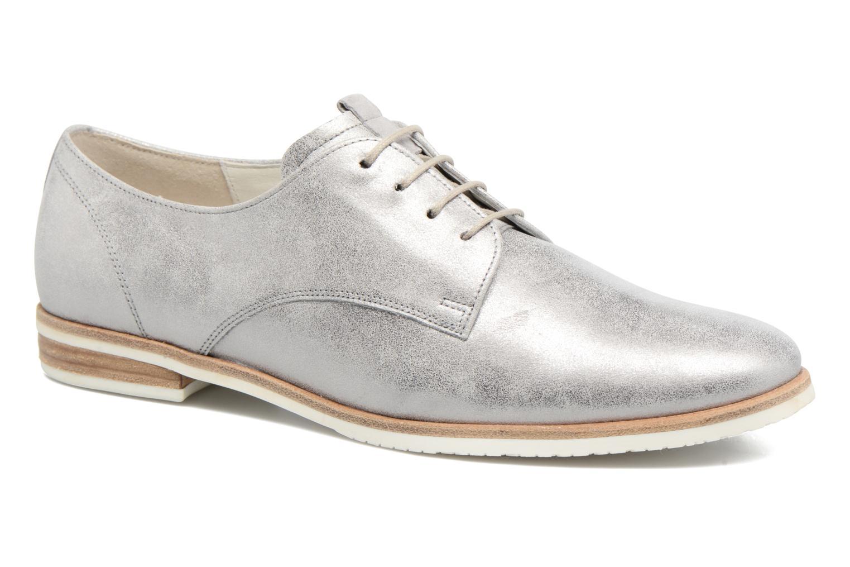 Zapatos con cordones Gabor Napoli Plateado vista de detalle / par