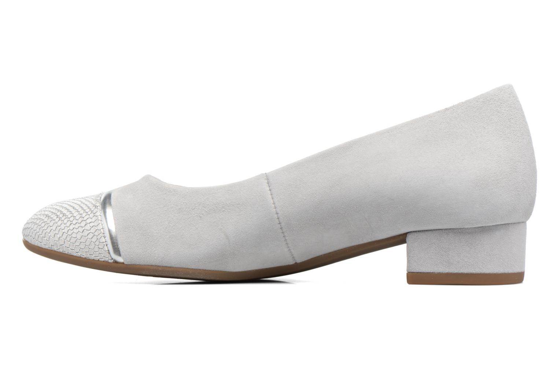 Zapatos de tacón Gabor Kreta 3 Gris vista de frente