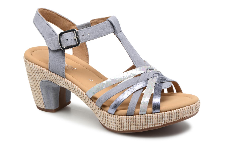 Marques Chaussure femme Gabor femme St Tropez 3 Weiss 2