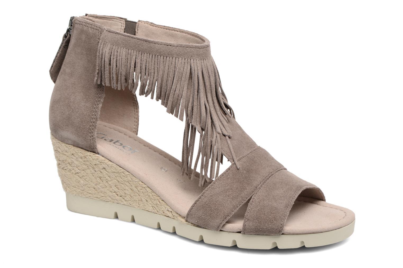 Sandales et nu-pieds Gabor Tunis 3 Marron vue détail/paire