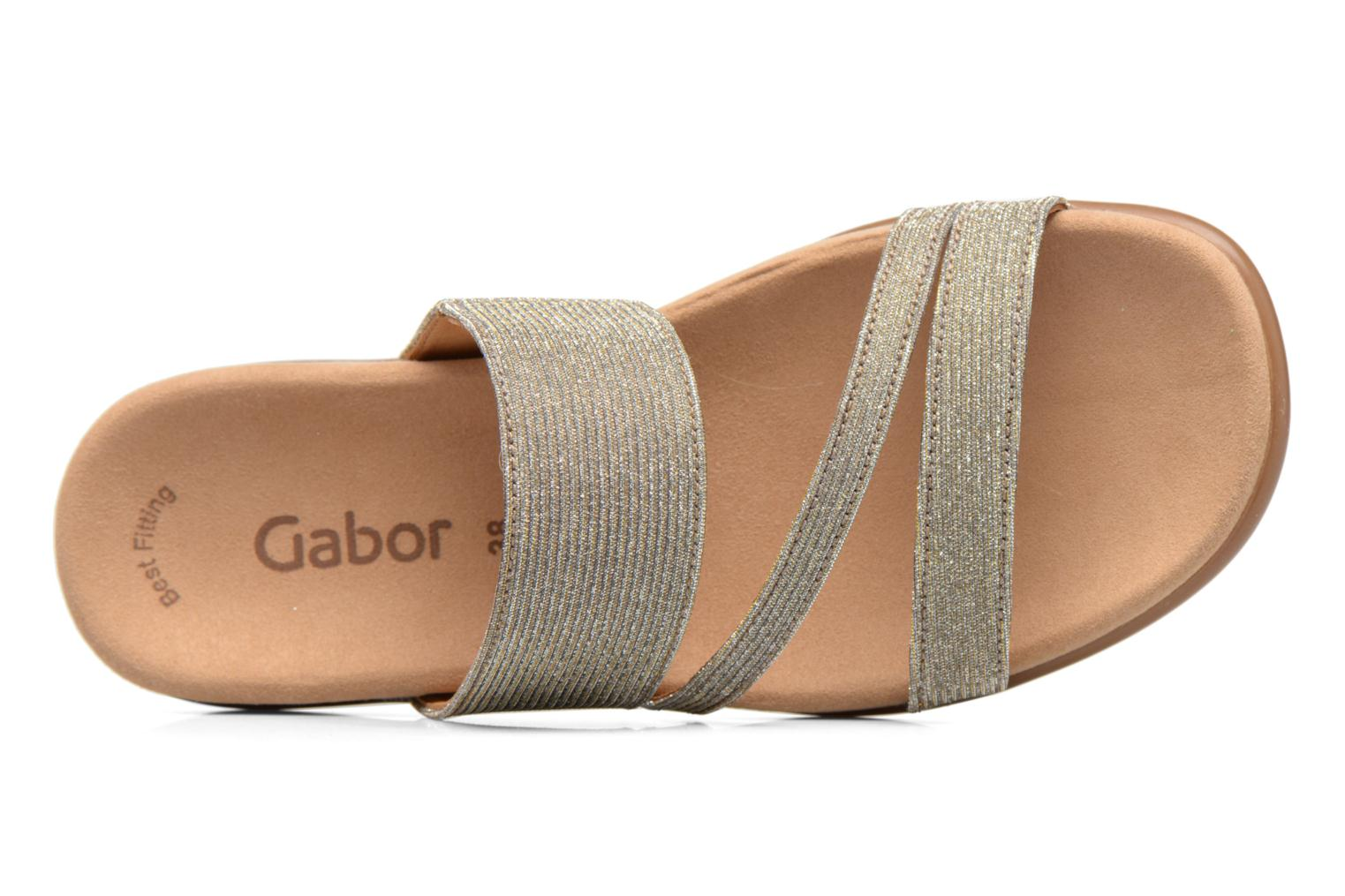 Mules & clogs Gabor Salerna Grey view from the left
