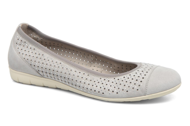Grandes descuentos últimos zapatos Gabor Linda (Gris) - Bailarinas Descuento