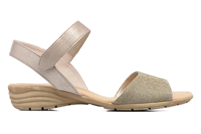 Sandales et nu-pieds Gabor Ferrare Argent vue derrière