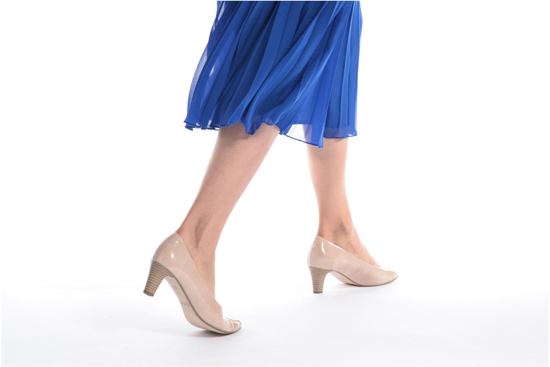 Zapatos de tacón Gabor Andria Azul vista de abajo