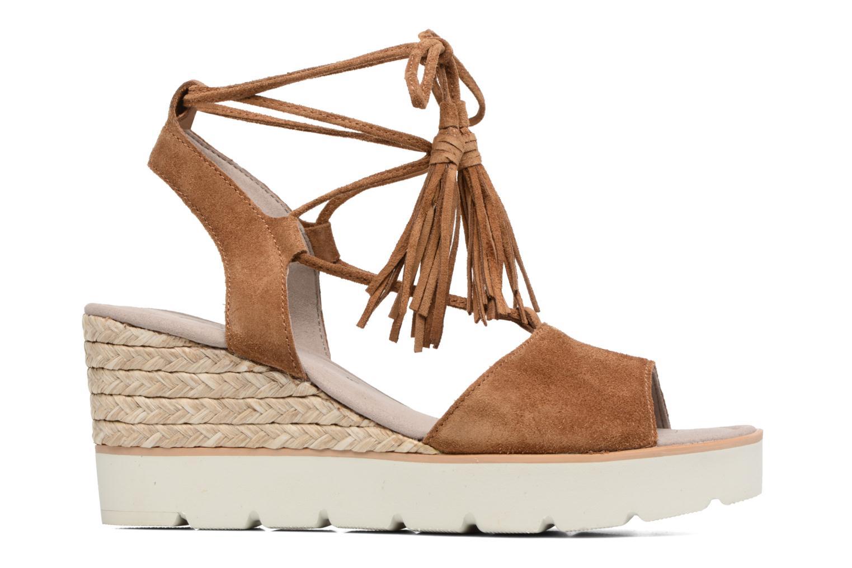 Sandales et nu-pieds Gabor Vittoria Marron vue derrière